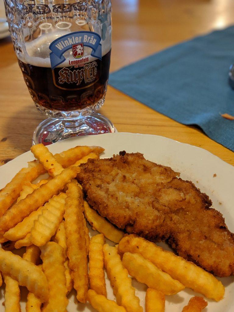German Schnitzel