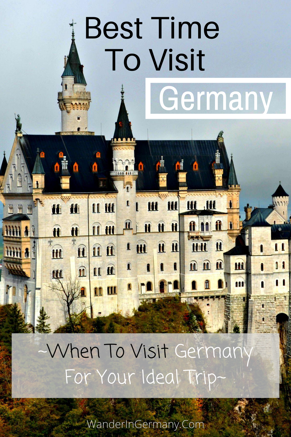 Your guide to the best time to visit Germany no matter what you want to see, including the best time to visit Berlin, Hamburg, Munich and other Germany favorite locations