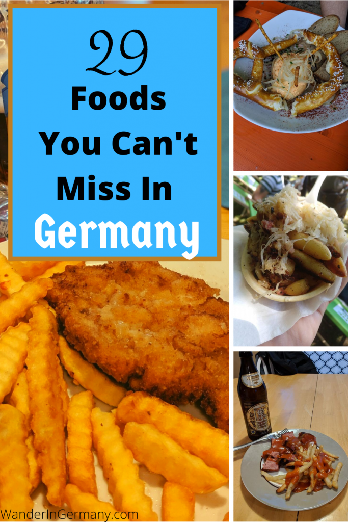 Authentic German Foods To Eat in Germany