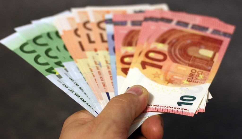Money in Germany Euros