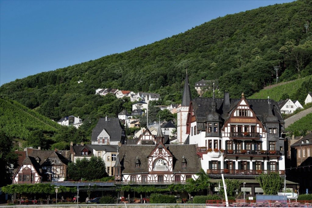 Assmannshausen is one of the mostbeautiful cities germany