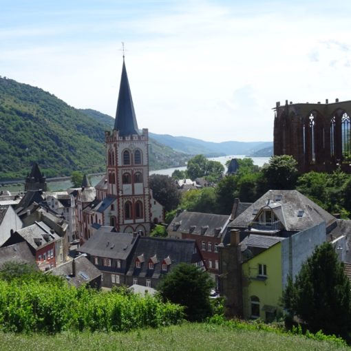 one of the many beautiful small towns germany: Bacharach