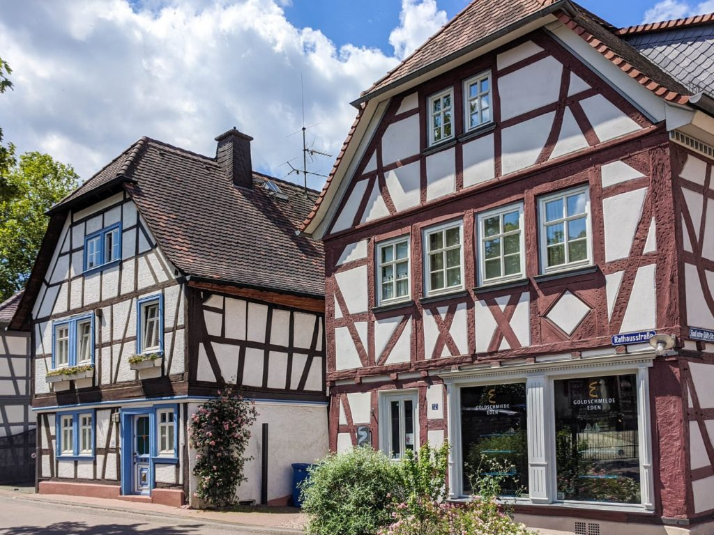 beautiful houses in germany
