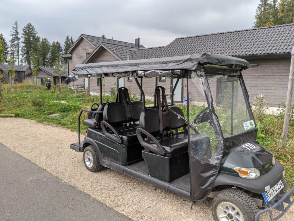 Center Parcs Golf Cart