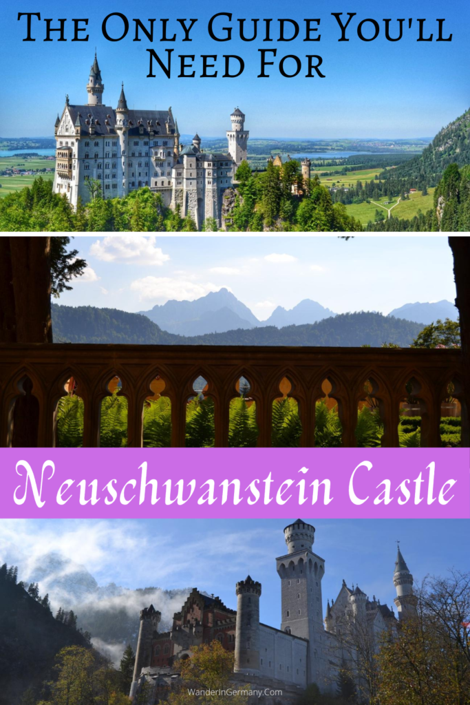 How to visit the castle in germany disney