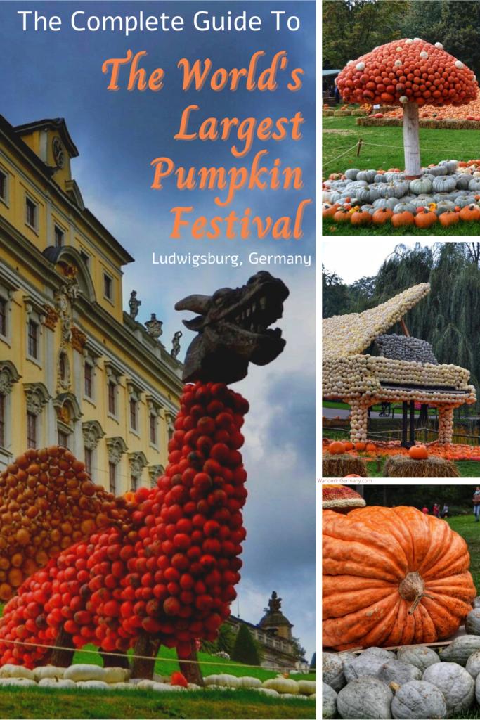 famous festivals in germany: Ludwigsburg Pumpkin Festival (KÜRBISAUSSTELLUNG LUDWIGSBURG