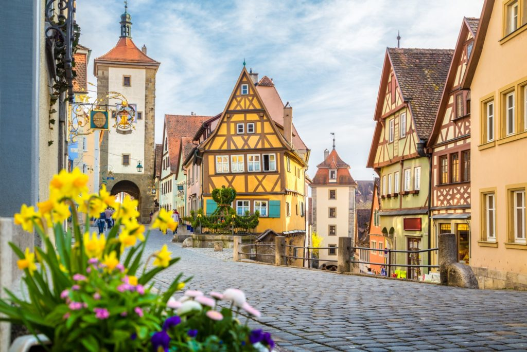 One of the mostbeautiful medieval towns in germany