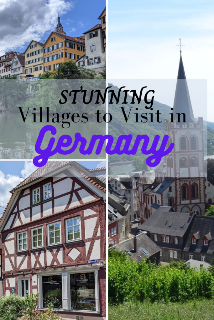 beautiful german villages