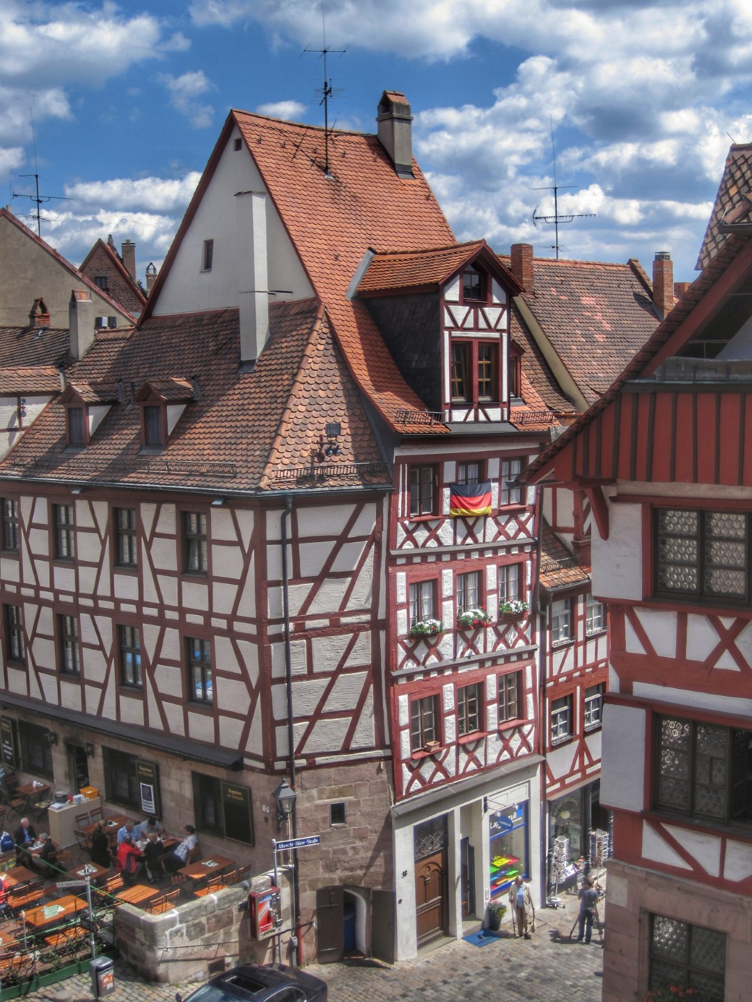 Picturesque towns in Germany