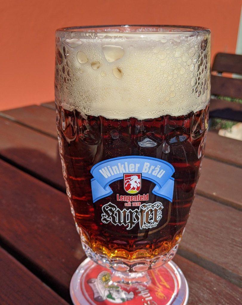 Bavarian Beer. Kupfer Bier
