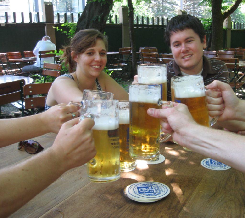 Munich Augustiner Beergarden