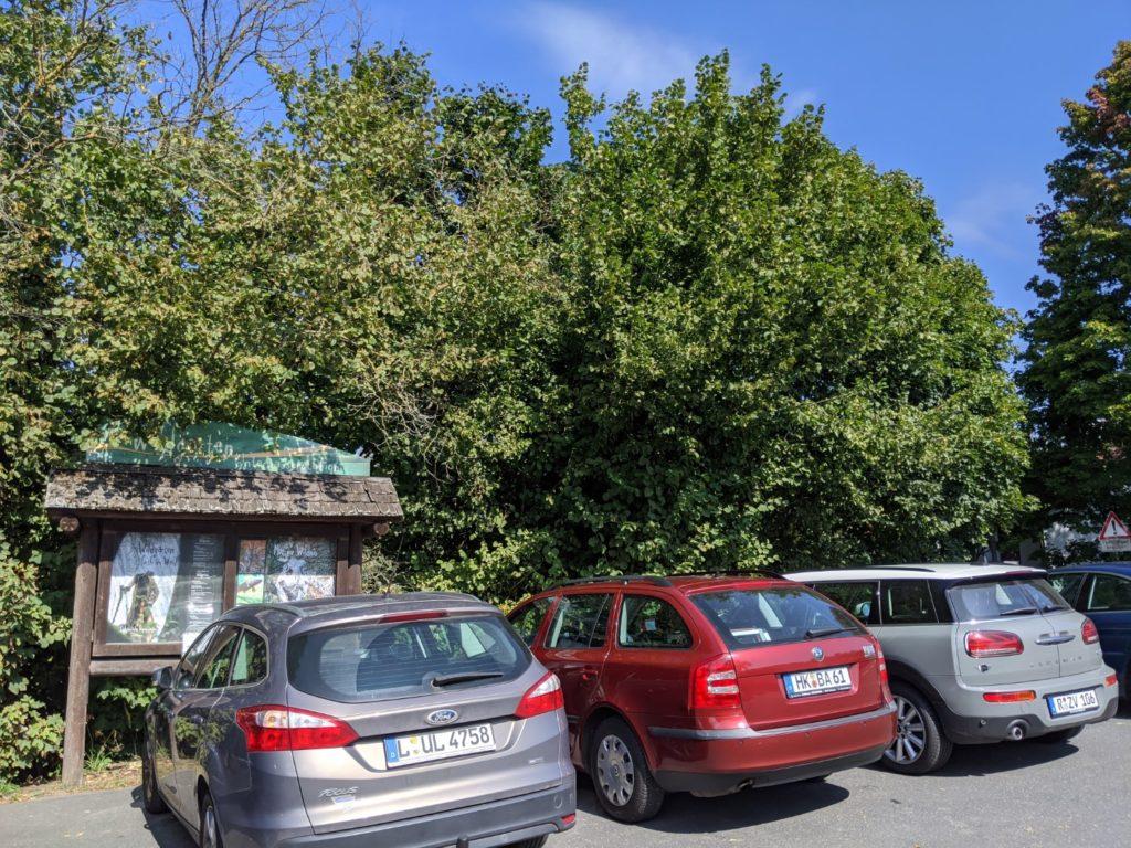 Wildgarten Parking Lot