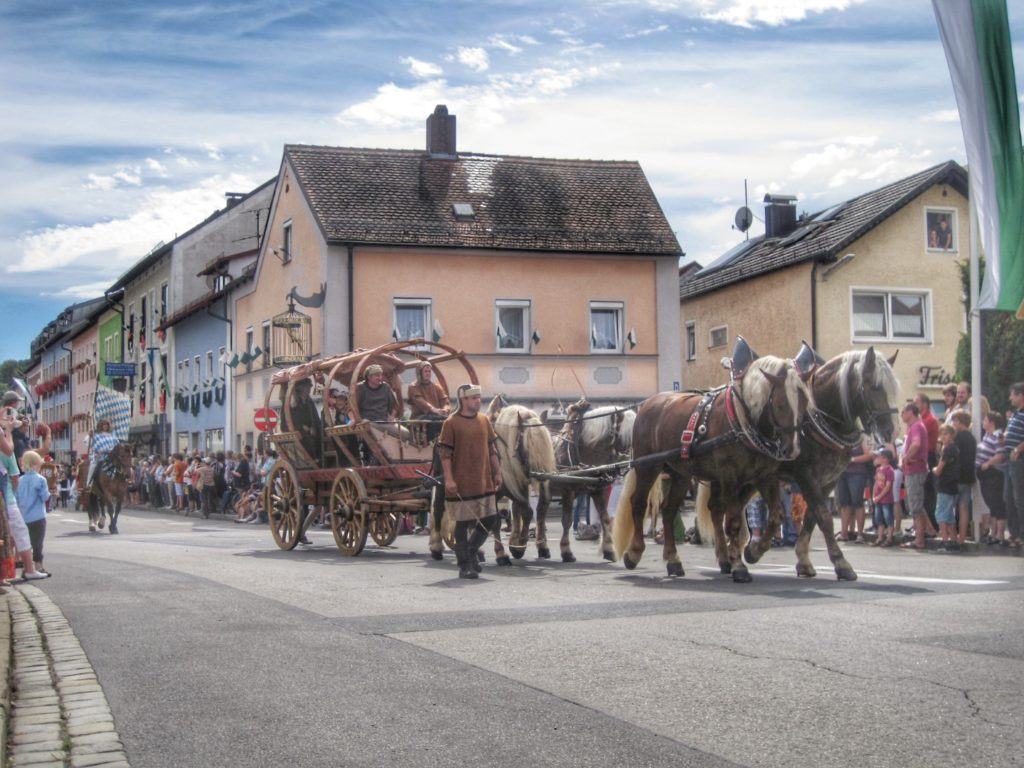 Furth im Wald Dragon festival parade