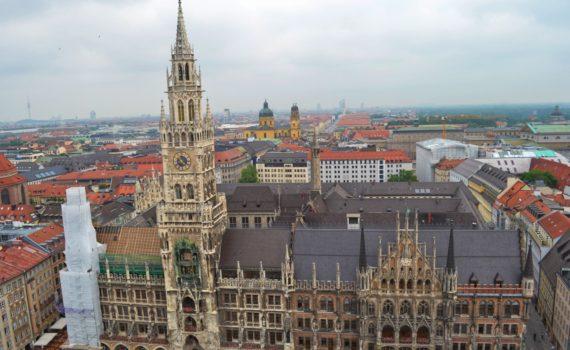 Munich rathaus glockenspiel