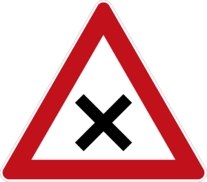 driving in germany road signs: end of priority