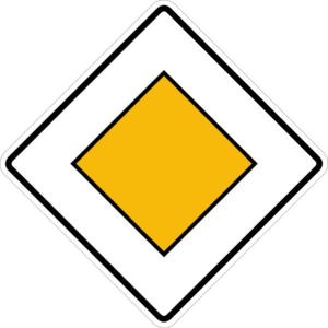 german road rules: priority rules