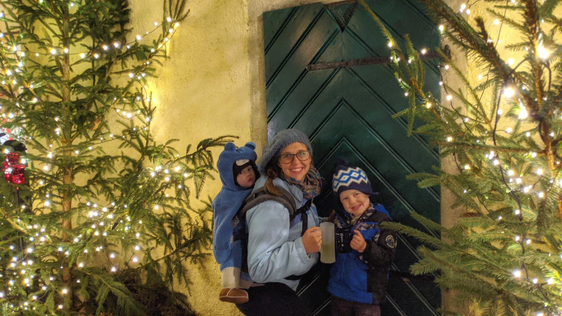 Christmas Market Gluhwein and Kinderpunsch