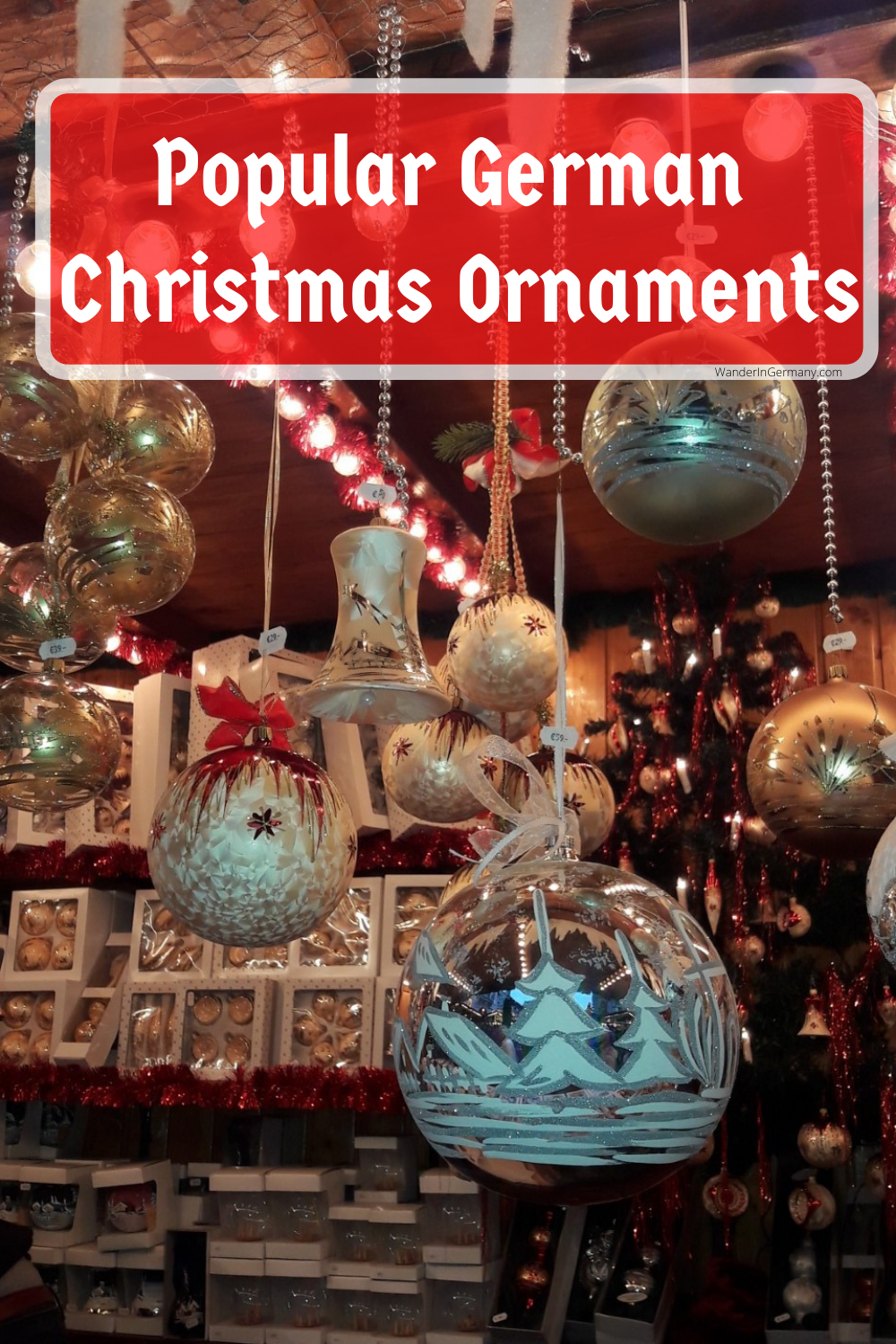 german christmas glass ornaments