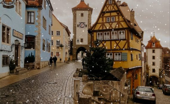 rothenburg christmas town germany