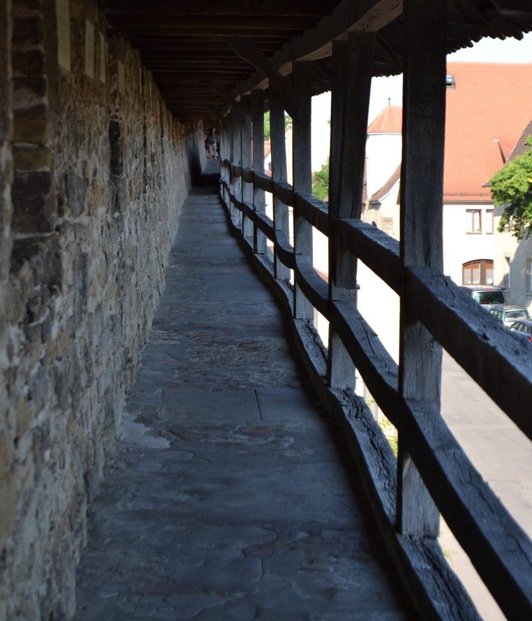 rothenburg city wall walking tour