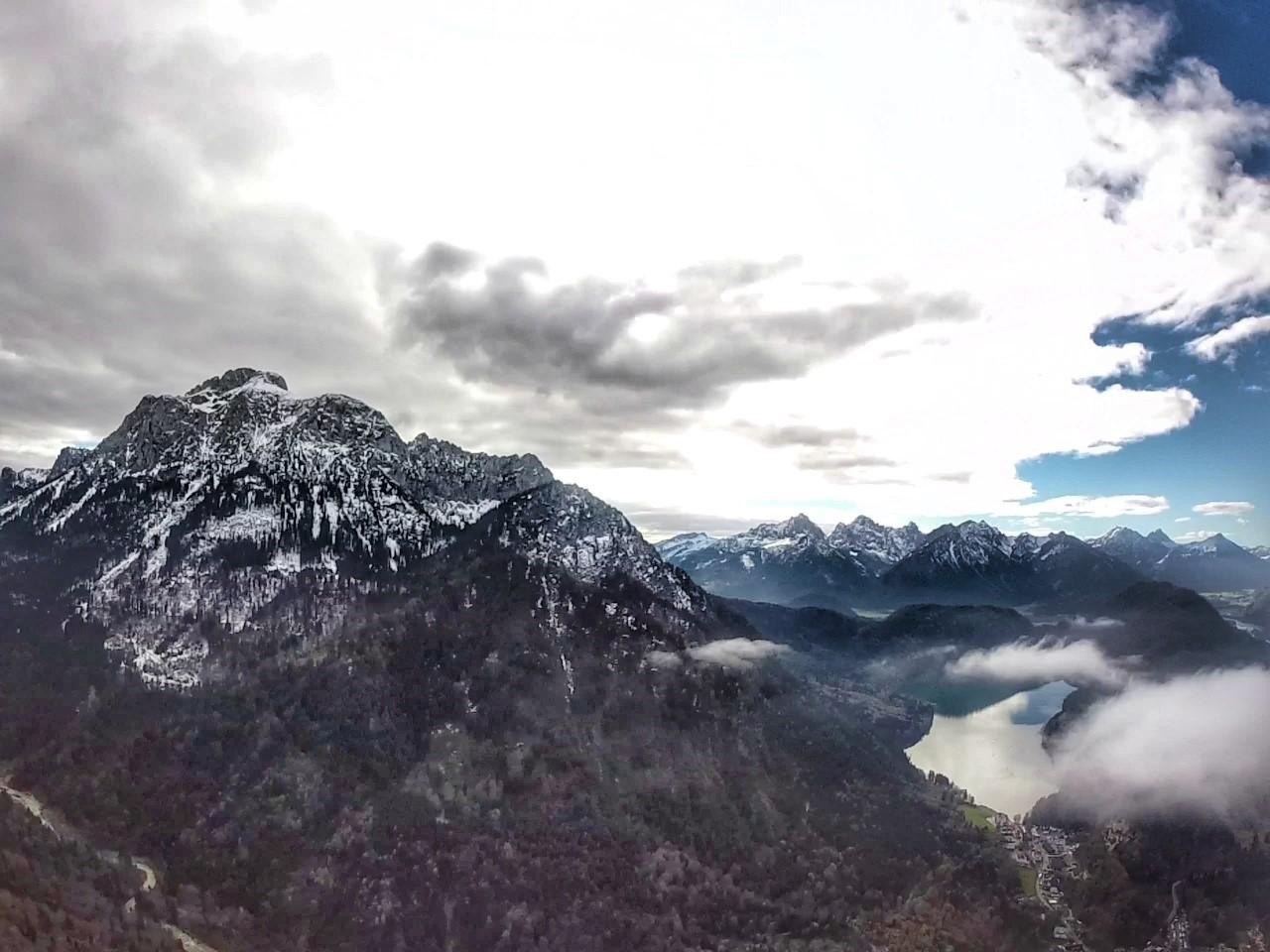 Alpsee Neuschwanstein