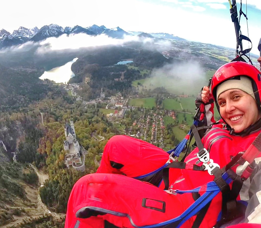 Neuschwanstein Paragliding Germany