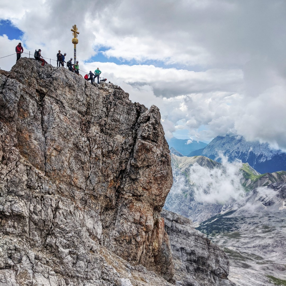 Munich to Zugspitze bavaria mountain