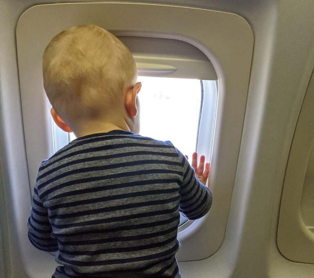 flying with a baby to germany