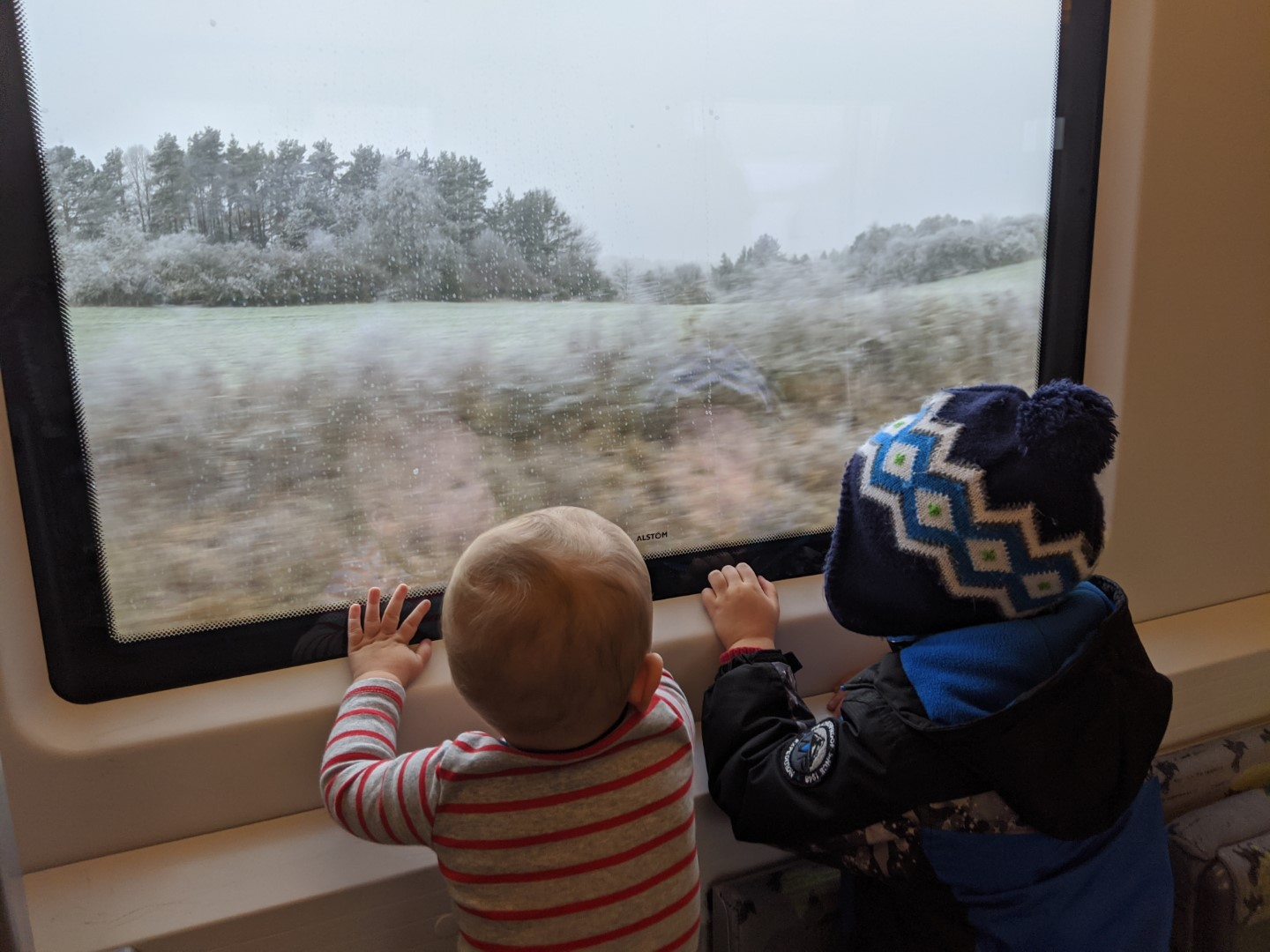 train travel with kids in germany