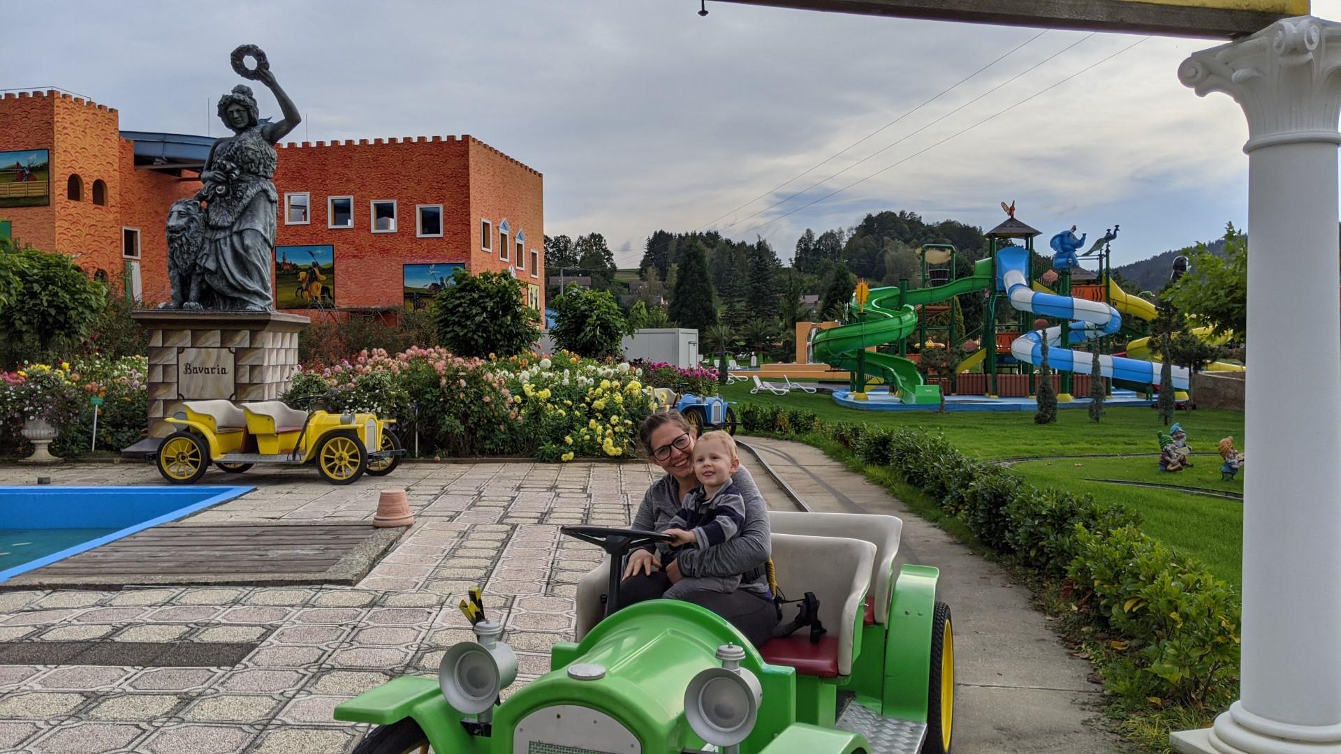 Amusement parks for kids in germany Churpfalz Park