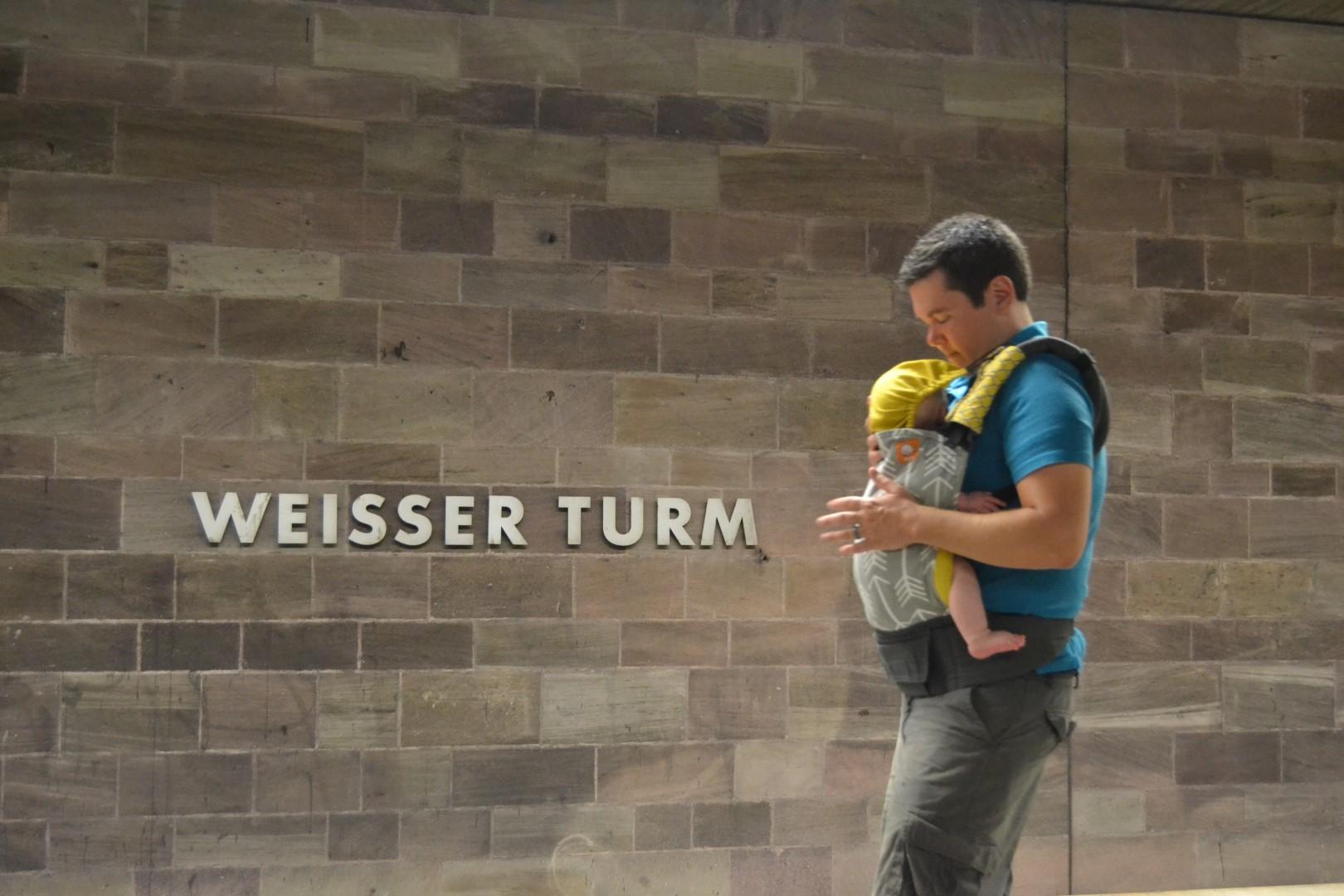 Babywearing While Traveling