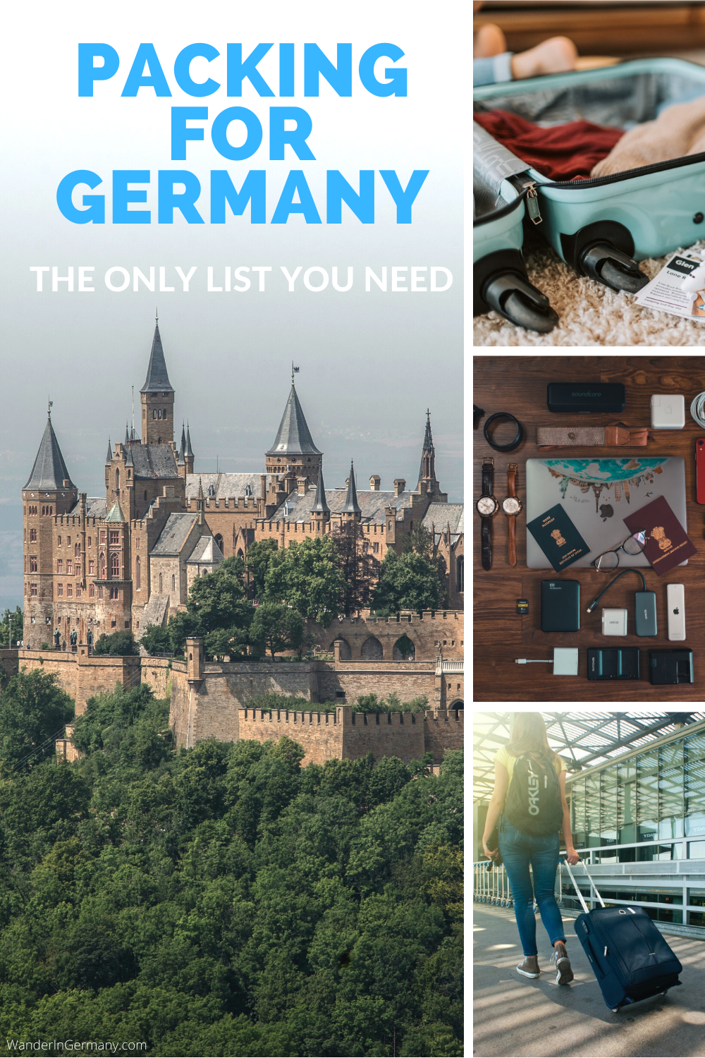Germany Packing List