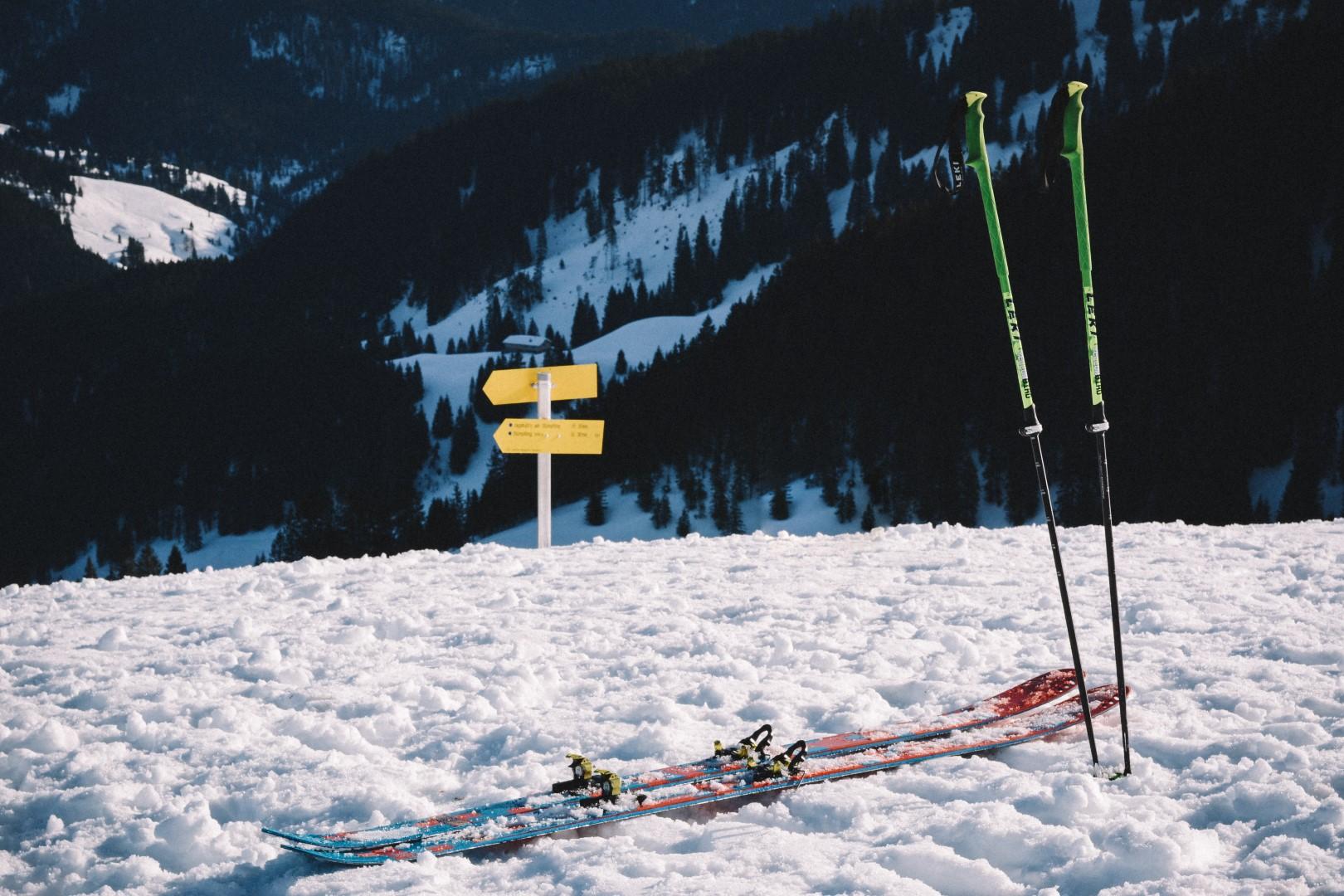 skiing near munich