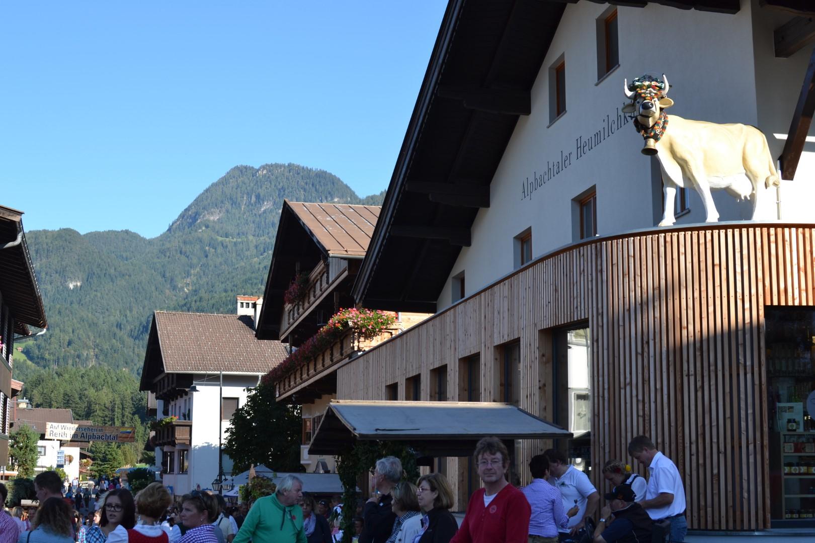 almabtrieb reith im alpbachtal