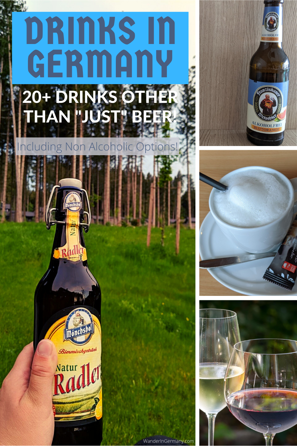 drinks in germany other than beer