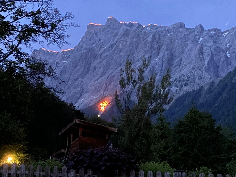 garmisch solstice mountain fires