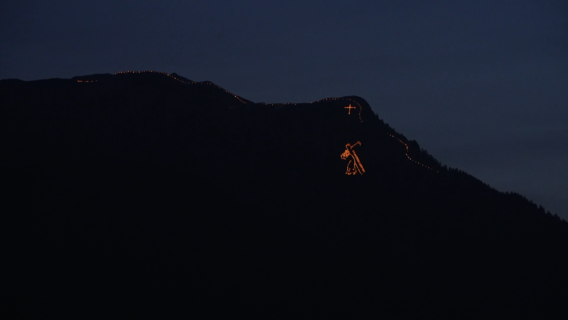 Mountain Fires Summer Solstice Fires Zugspitz Arena