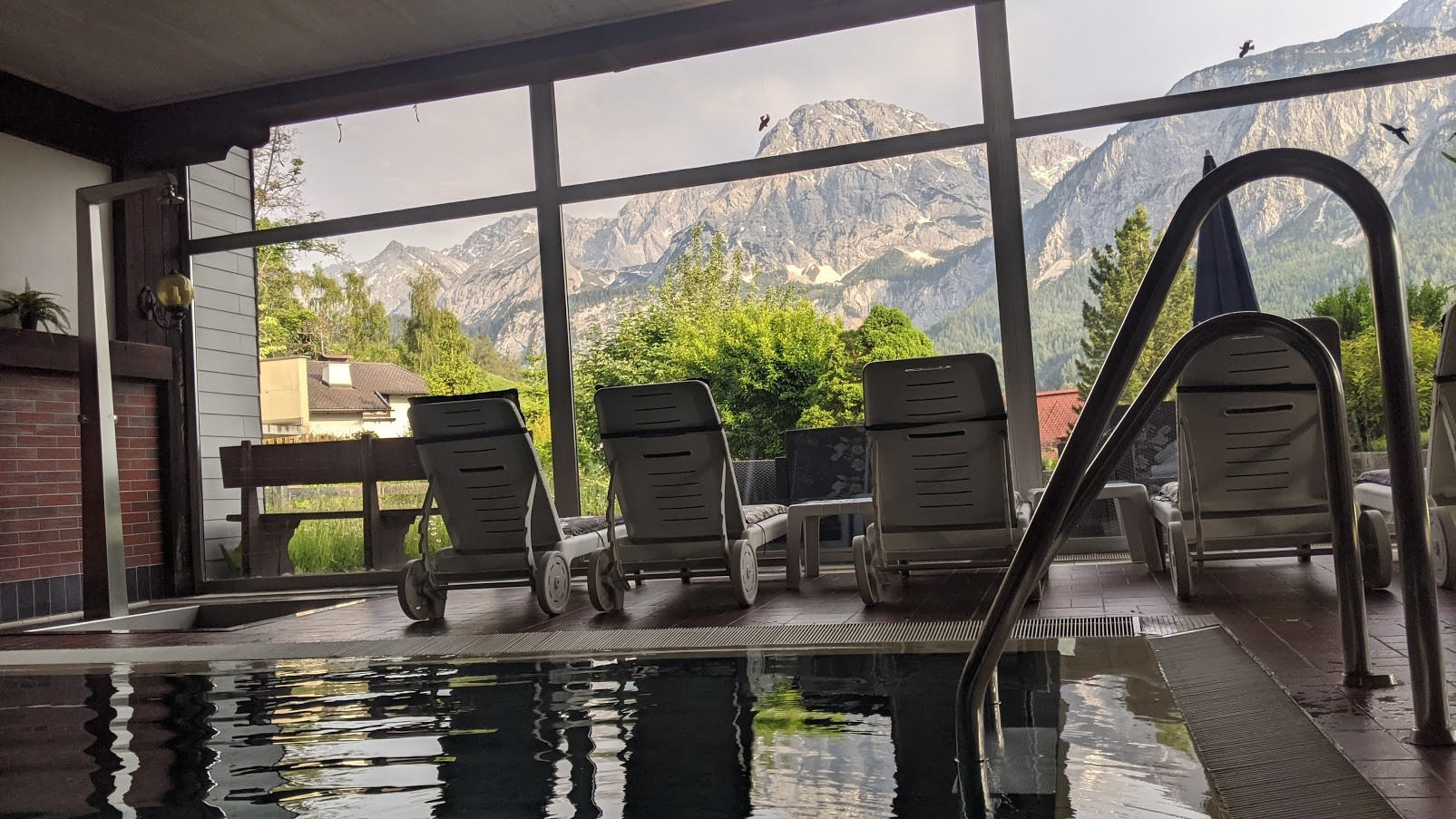 ehrwald apartment with pool