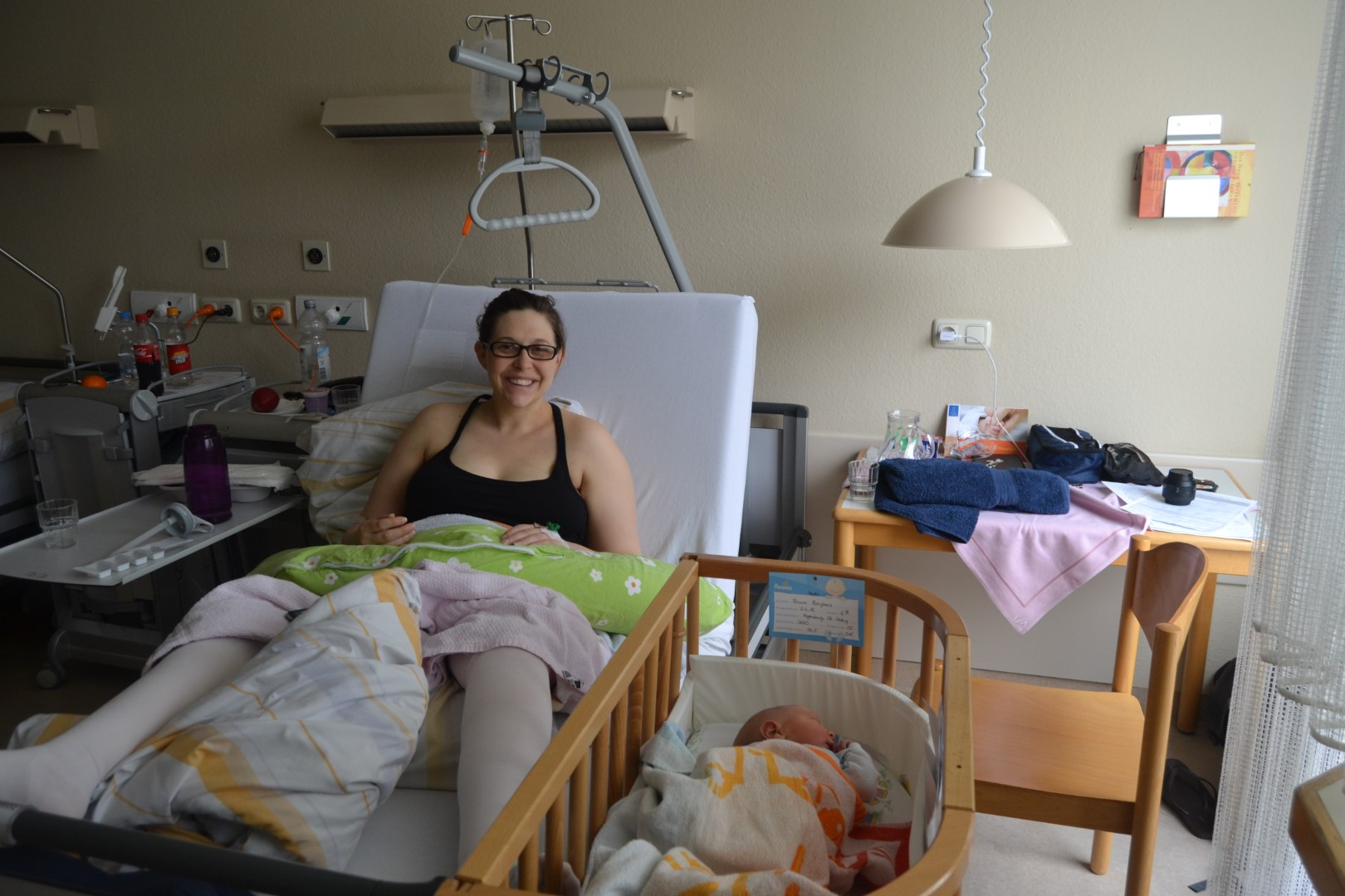 Giving Birth in a German Hospital Room