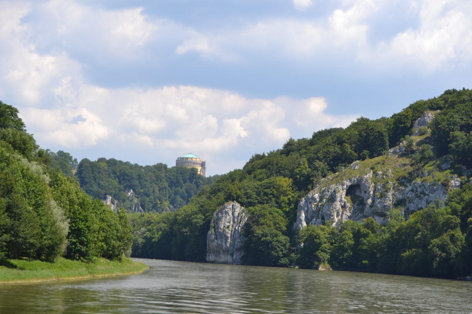 Danube Boat To Weltenburg on the danube gorge germany