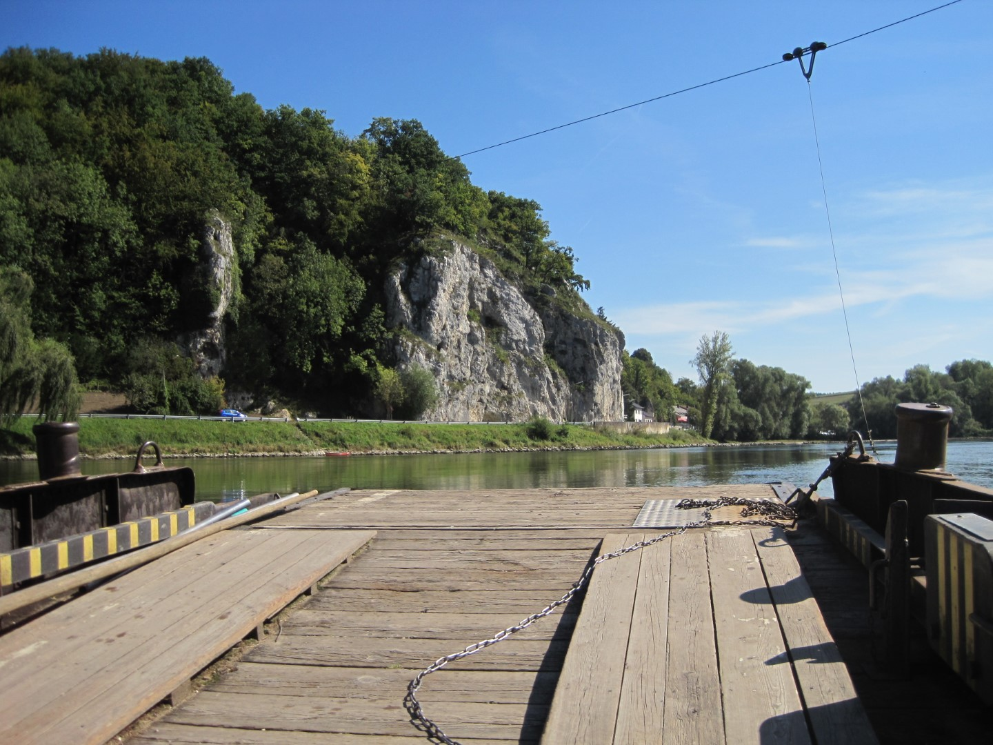 Weltenburg Cable Ferry