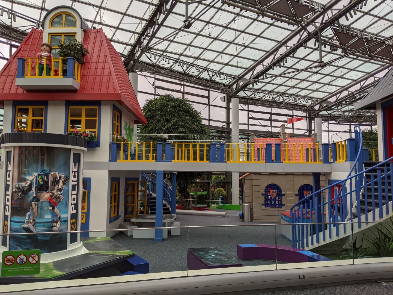 indoor play area in Playmobil Funpark Nuremberg