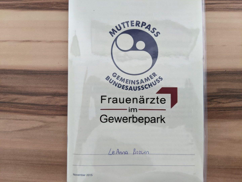 german mutterpass