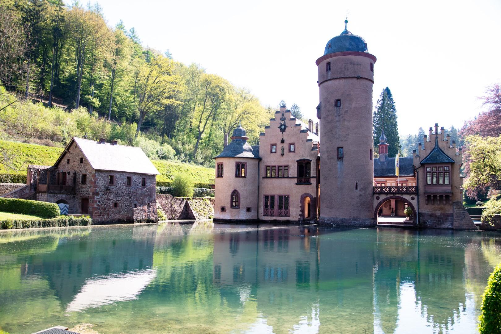 Off the beaten path Germany castles: mespelbrunn