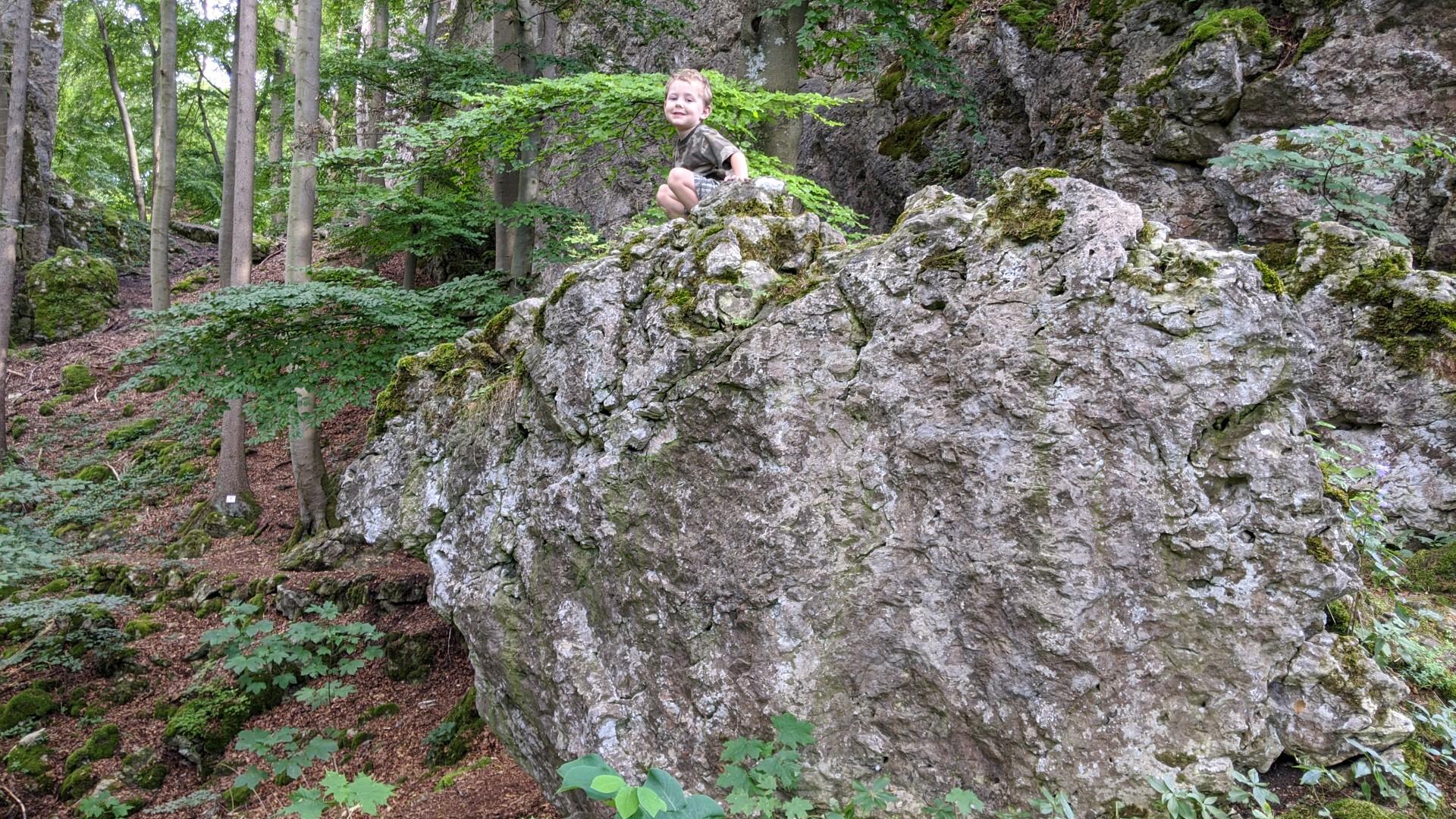 hiking near regensburg with kids